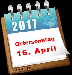Easter 2019: SONNTAG, 21. APRIL